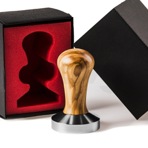 Tamper Etolia Competition Lemn de Maslin 58,5 mm
