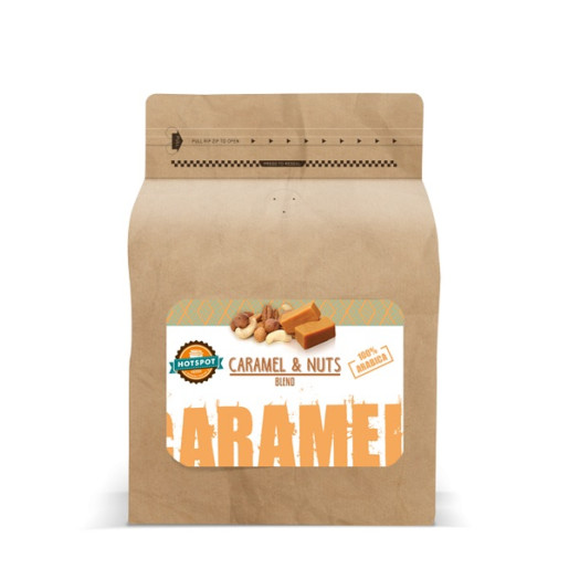 Hotspot Caramel & Nuts Blend 250g cafea boabe