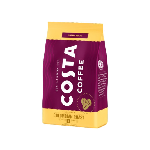 Costa Colombian Roast cafea boabe 500g