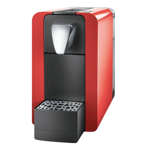 Cremesso Easy Red-Shell White espressor capsule automat + capsule cadou