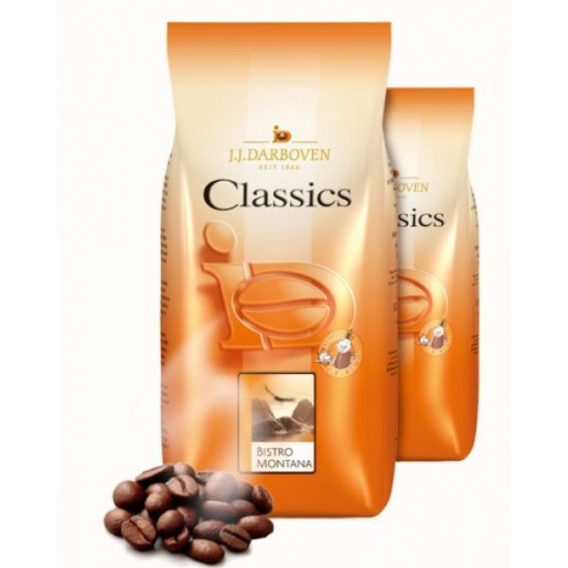 JJ Darboven Classics Cafe Creme Bistro Montana 1kg cafea boabe