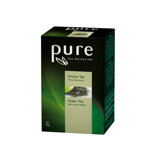 Ceai Pure Tea Selection verde cu lamaita