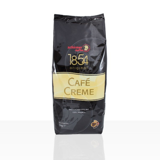 Schirmer 1854 Cafe Creme 1kg cafea boabe