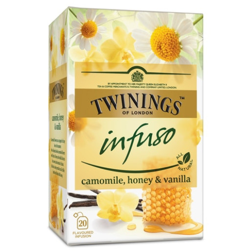 Twinings Infuso ceai infuzie musetel, miere si vanilie