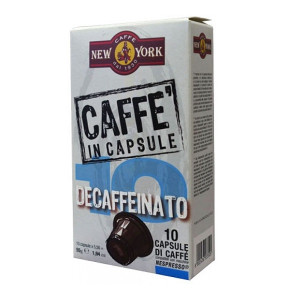 New York Decaffeinato 10 capsule compatibile Nespresso