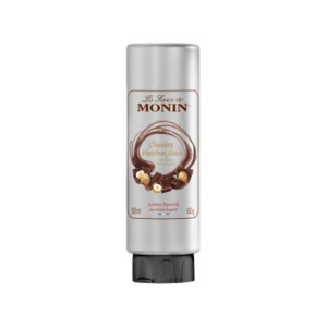 Monin Gourmet Sauce Chocolate Hazelnut topping cafea 500ml