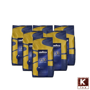 Pachet 6 x Lavazza Gold Selection 1kg cafea boabe