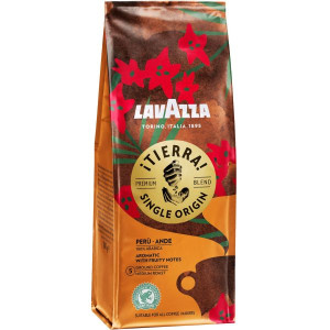 Lavazza Tierra Single Origin Peru Ande 180g cafea macinata