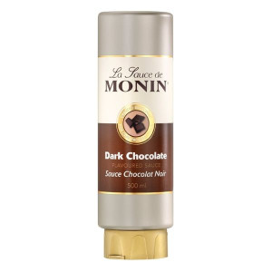 Monin Gourmet Sauce Dark Chocolate topping cafea 500ml