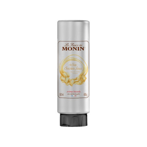 Monin Gourmet Sauce White Chocolate topping cafea 500ml