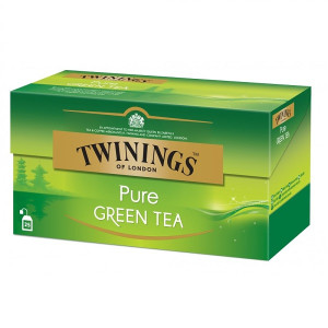 Twinings Green Pure ceai verde pur 25 pliculete