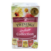 Twinings Infuso Collection ceai infuzie fructe si plante 20 plicuri